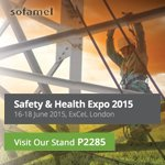 Sofamel at Safety and Health Expo 2015